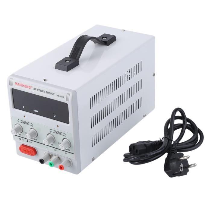 Alimentation 30V 5A Centres de réparation de tests Laboratoire Digital Direct Controllable