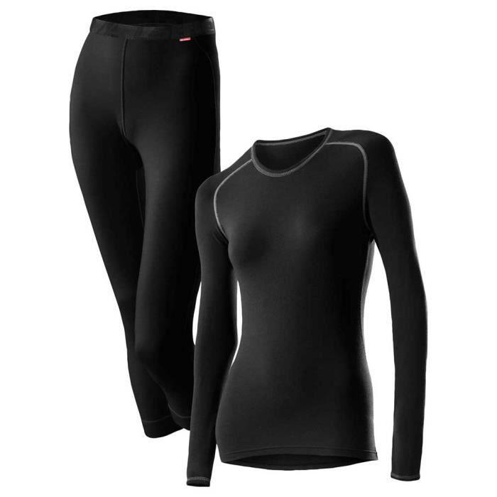Vêtements femme Sous vêtements techniques pantalons Loeffler Set 3-4 Transtex Warm