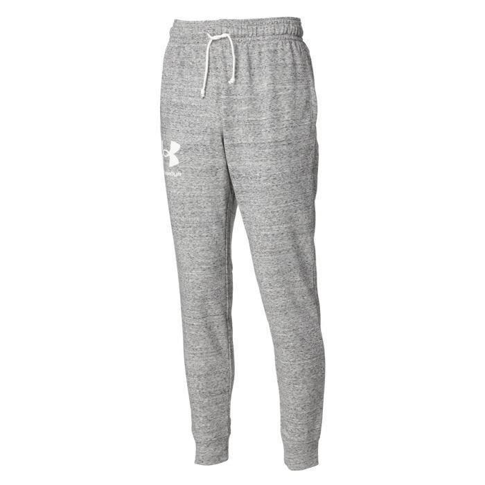 Pantalon de jogging Under Armour Rival Terry - blanc/blanc - L