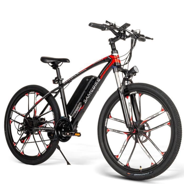 Samebike MY-SM26 Vélo électrique 3 Modes Charge maximale 150 kg Vitesse max 30 km/h