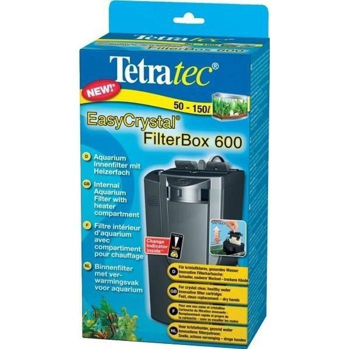 TETRA Filtre Easycrystal 600 - Pour aquarium