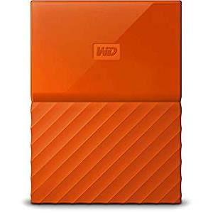 WD My Passport 4To Orange + 1 Housse Rigide Offerte