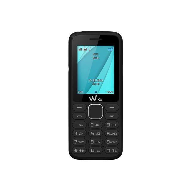Téléphone Wiko Lubi 4 Dual Sim noir