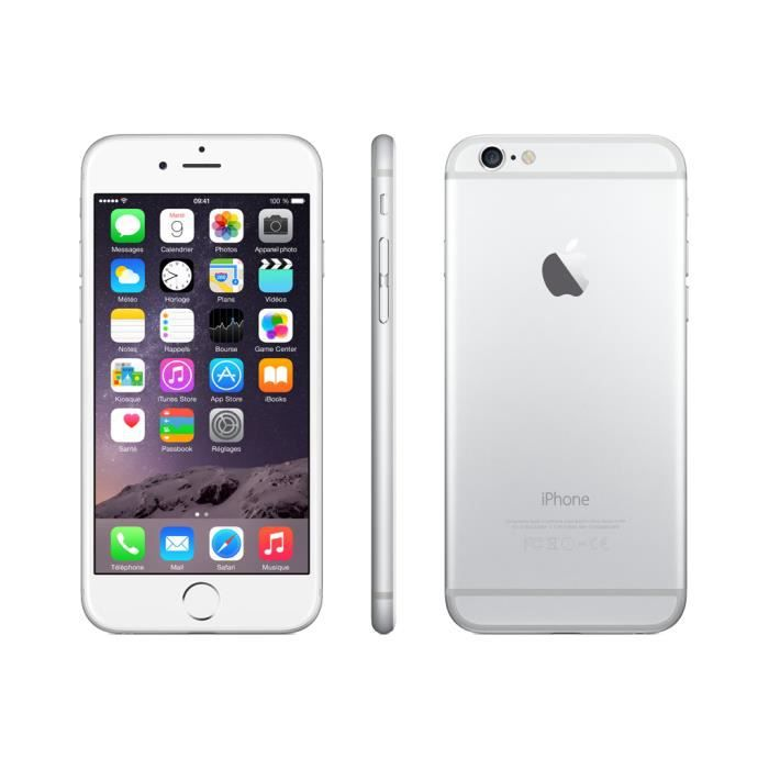 SMARTPHONE RECOND. iPhone 6 16 Go Argent Reconditionné en France Gara