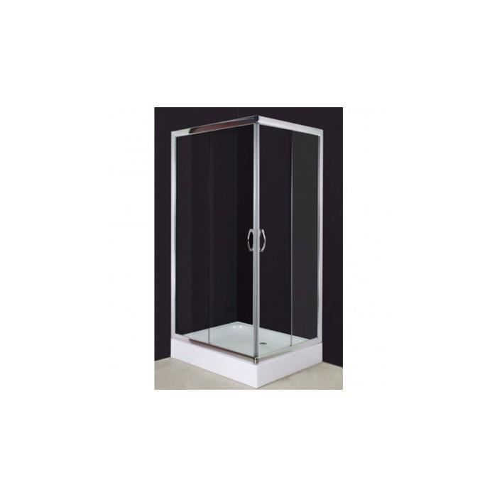 cabine douche carr e 100 x 80 cm achat vente cabine de douche cabine douche carr e 100 x 80. Black Bedroom Furniture Sets. Home Design Ideas