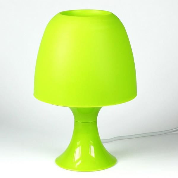 lampe de chevet vert achat vente lampe de chevet vert plastique cdiscount. Black Bedroom Furniture Sets. Home Design Ideas