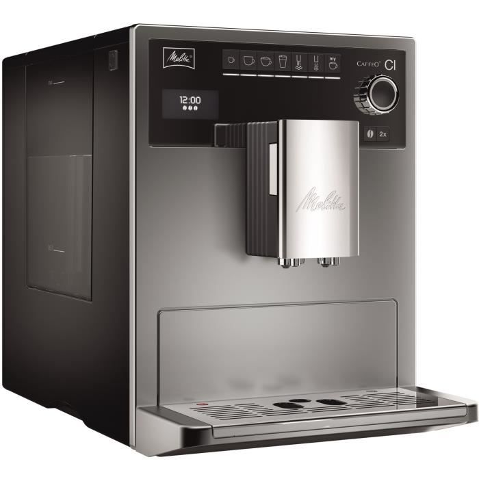melitta e970 306 machine expresso automatique avec broyeur. Black Bedroom Furniture Sets. Home Design Ideas