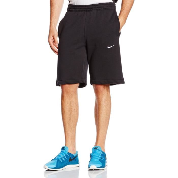SHORT Nike Club Swoosh Shorts Noir Homme 629206 010