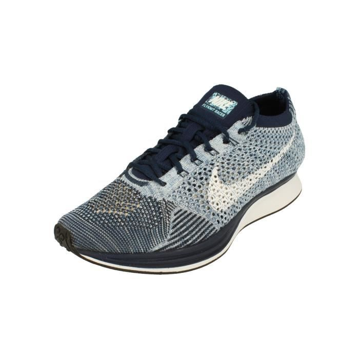 new style 5368e c4bff Nike Flyknit Racer Hommes Running Trainers 862713 Sneakers Chaussures 401