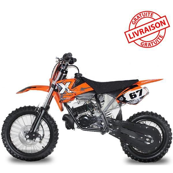 moto essence dirt bike nrg50 racing hydrau 14 12 49cc orange achat vente moto moto essence. Black Bedroom Furniture Sets. Home Design Ideas
