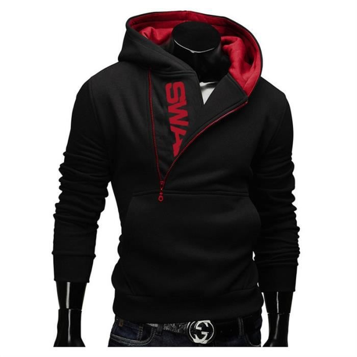 Autumn Jumpers Coat Printed Pullovers Sweatshirts Men Outwear Zipper Hoodies Men's 6xl Hoody M Casual Letter Size rC7Srq
