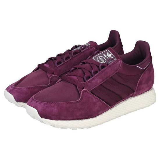 official supplier latest fashion limited guantity Adidas Forest Grove W Femme Baskets Violet Violet - Achat / Vente ...