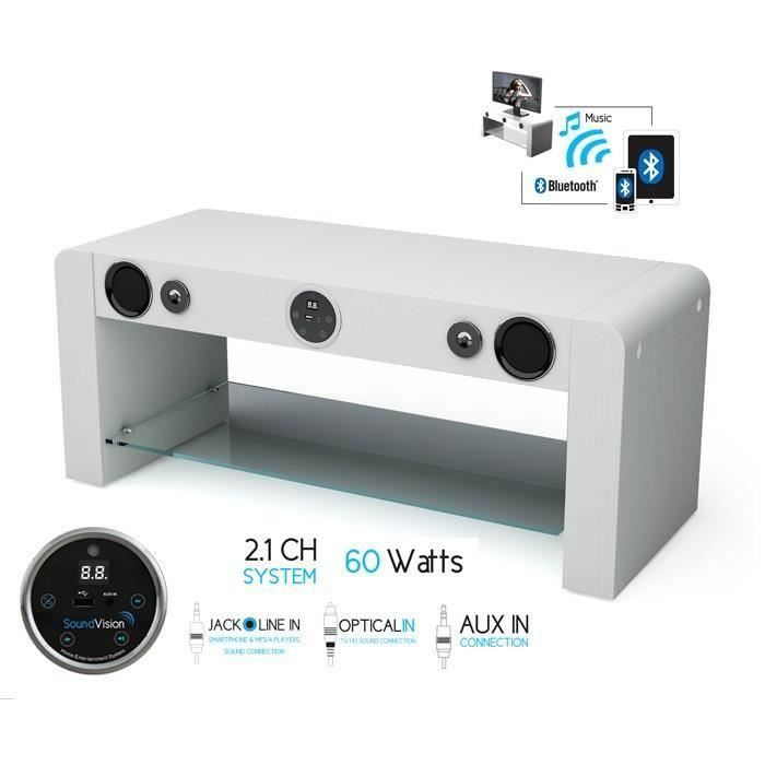 Tv Soundvision Destockage Bluetooth Hifi Meuble Soundstand10 EQBWredCxo