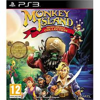 JEUX PLAYSTATION 3 THE ADVENTURES OF MONKEY ISLAND ED SPEC / Jeu PS3