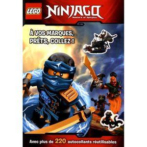 LIVRE LOISIRS CRÉATIFS Lego Ninjago Masters of Spinjitzu. A vos marques,