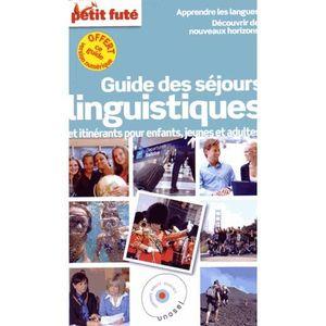 LIVRE TOURISME MONDE Guide des séjours linguistiques et itinérants pour