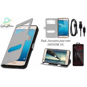 Flip cover honor 5x achat vente flip cover honor 5x for Housse honor 5x
