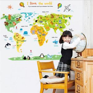 sticker carte du monde enfant achat vente sticker carte du monde enfant pas cher soldes. Black Bedroom Furniture Sets. Home Design Ideas