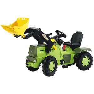 TRACTEUR - CHANTIER Tracteur à pédales Vert MB TRAC 1500 avec pelle f