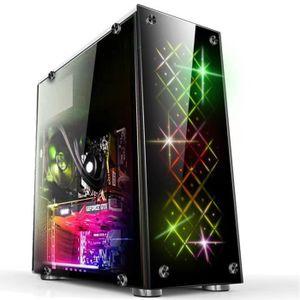 BOITIER PC  SHAN NEUFU Gaming ATX RGB Computer Boîtier Ordinat