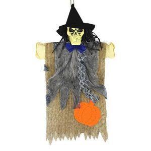 OBJET DÉCORATIF Halloween squelette épée épouvantail décoratif Hal