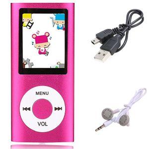 LECTEUR MP3 Slim Mp3 Mp4 écouteur Player 32Go avec 1.8