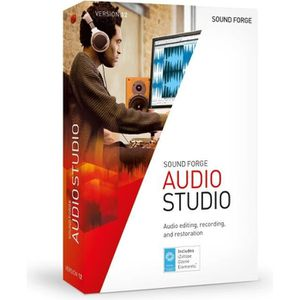 MULTIMÉDIA MAGIX Logiciel SOUND FORGE Audio Studio 12