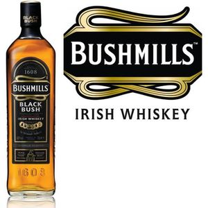 WHISKY BOURBON SCOTCH Bushmills Black Bush - Blended Irish Whiskey - 40%