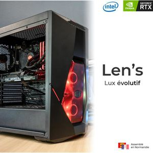 UNITÉ CENTRALE  Len's Lux N6 – PC Gamer | Intel Core i7 9700K - MS