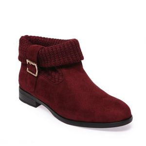 BOTTINE LA MODEUSE - BOTTINES FEMME SIMILI DAIM