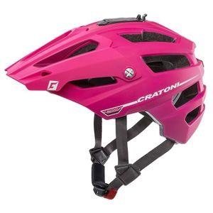 CASQUE DE VÉLO CRATONI - Casque pour vélo ATTRACK rose - Taille M