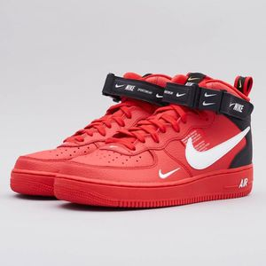 Air force 1 mid rouge - Cdiscount
