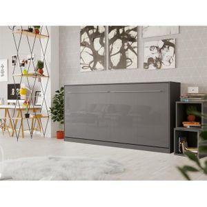 LIT ESCAMOTABLE SMARTBett Standard 90x200 horizontal anthracite /a
