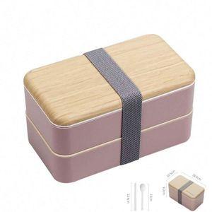 LUNCH BOX - BENTO  Set Lunch Box 1200 ML Boite Bento avec Couche Doub