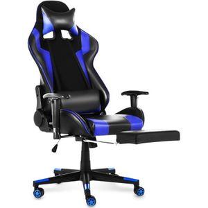 SIÈGE GAMING TEMPSA Chaise de Bureau Gamer - Réglable 180° - L