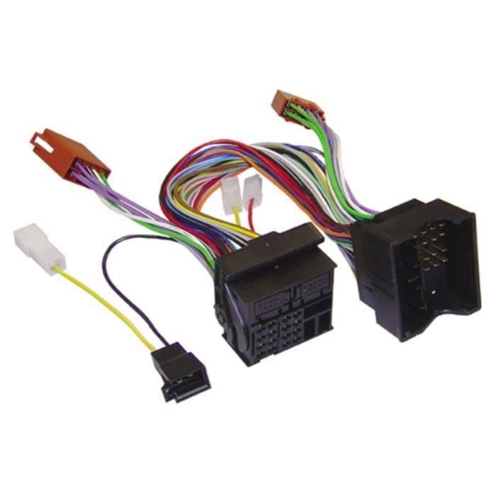 Câble adaptateur radio ISO actif AIV 510669 Adapté pour marque: Audi, BMW, Ford, MINI, Opel, Seat, Skoda, Volkswagen 1 p