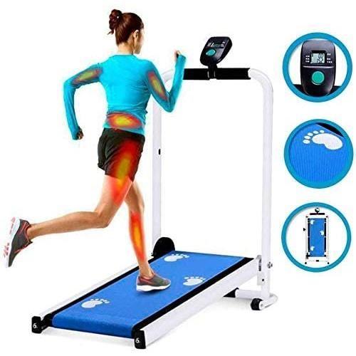 Mu Xin Tapis de Course plieuse Multi-Fonction Perte de Poids ,Un déplacement Facile Marche Jogging Fitness,Fitness pour Maison/Burea