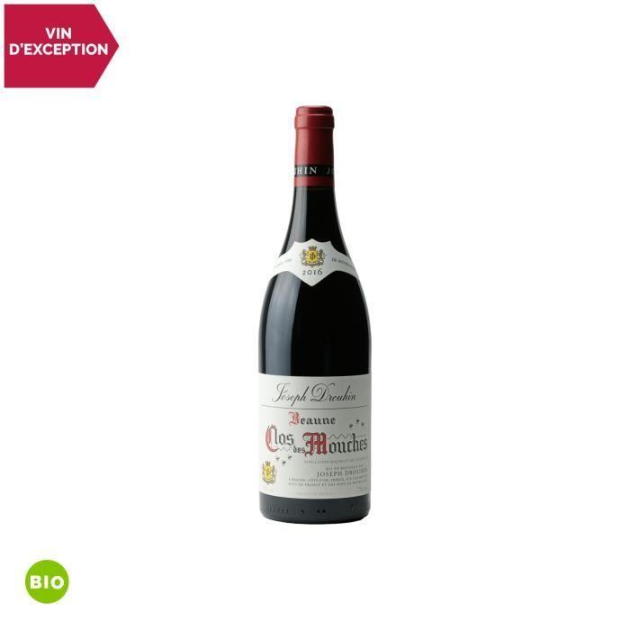 Beaune 1er Cru Le Clos des Mouches Rouge 2016 - Bio - 75cl - Maison Joseph Drouhin - Vin AOC Rouge de Bourgogne - Cépage Pinot Noir