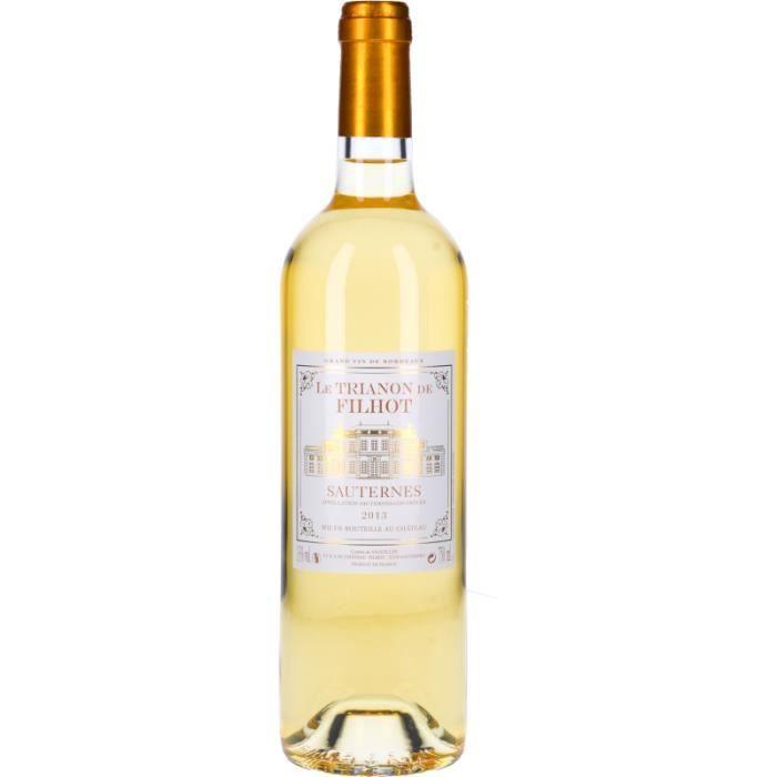 Vin Blanc - Le Trianon du Château Filhot 2013 - Bouteille 75cl