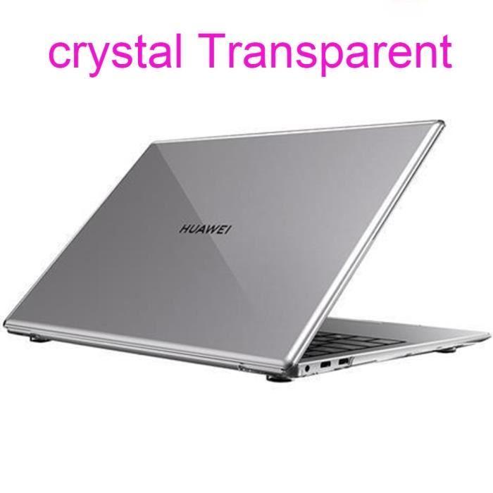 Sacoches & Housses Ordinateur,Coque pour Huawei MateBook X Pro D14 D15 13 14 pouces - Type crystal Transparent-new Mate book D 14