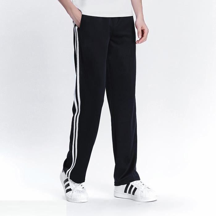 Pantalons Hommmes Printemps Été Casual De Survêtement Basique Survêtement Rayure Latérale Slim Respirant Sportswear De Survêtement