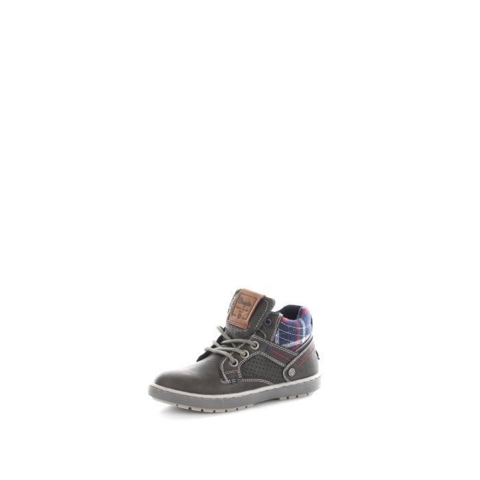 Wrangler Junior WJ16238 chaussures de tennis faible Enfant GRAPHITE
