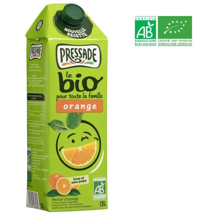 Nectar bio orange 1.5 l Pressade