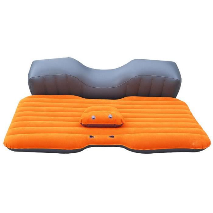 matelas orange gonflable air coussin gonflable de plage sac de couchage gonflable canap. Black Bedroom Furniture Sets. Home Design Ideas