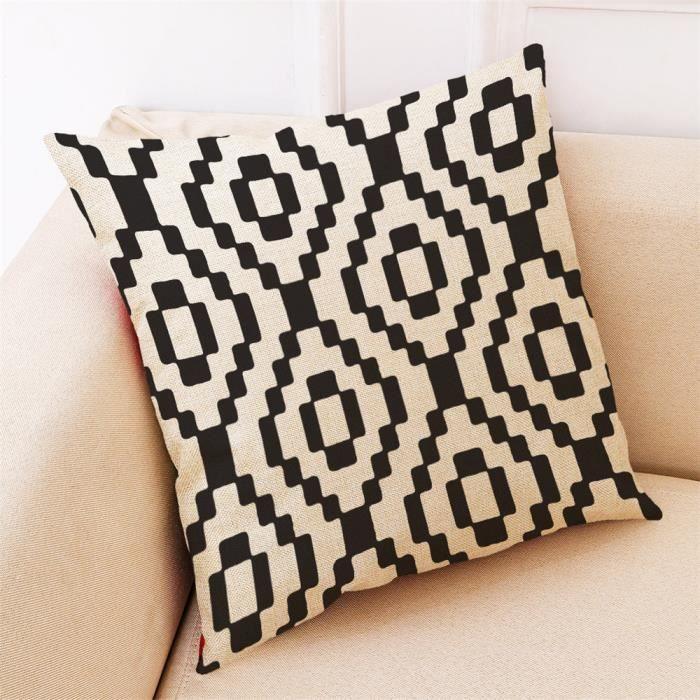 Lézard vintage imprimé housses de coussin oreiller cas home decor ou intérieure
