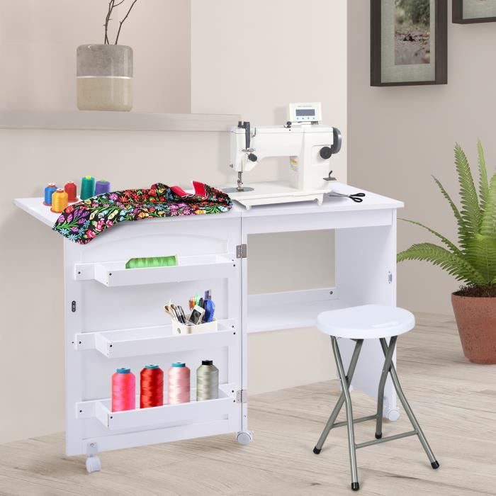 pliable Table machine de coudre la a OXPZTkiu