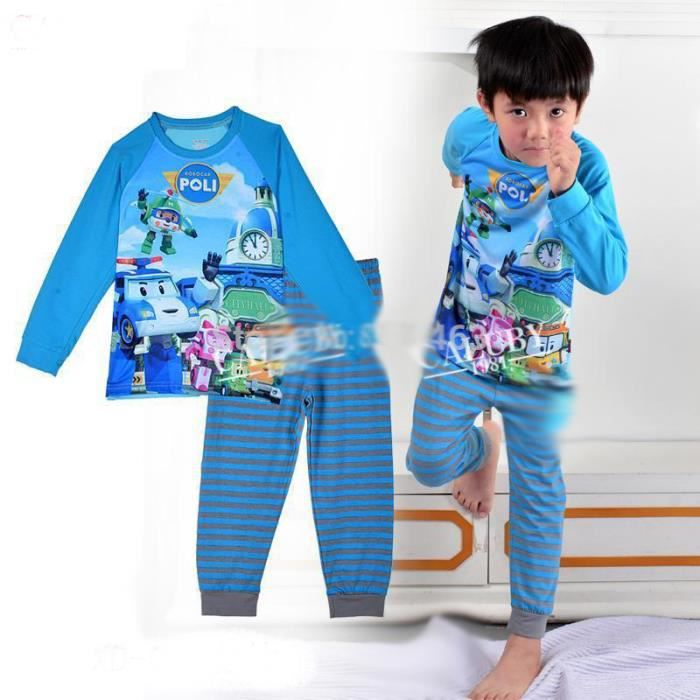 pyjama robocar poli 100 coton 2 ans achat vente. Black Bedroom Furniture Sets. Home Design Ideas