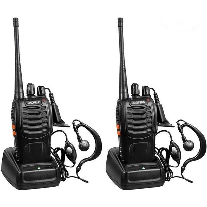 TALKIE-WALKIE 2 Pcs Baofeng BF-888S Talkie-walkie Rechargeable U