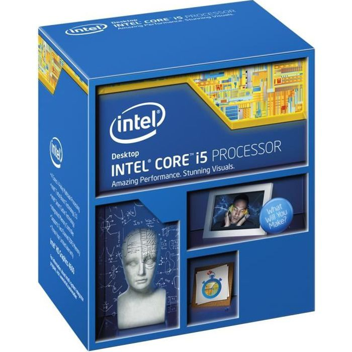 PROCESSEUR Intel® Core i5-4690 Haswell Refresh