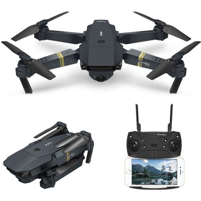 DRONE EACHINE Drone E58 - Wifi RC - 2MP 720P  - Caméra g